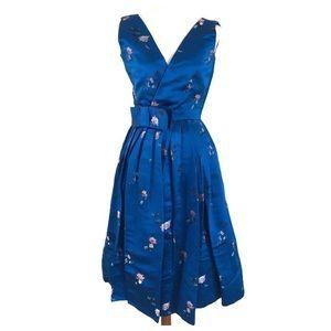 Dresses & Skirts - 1960's Vintage Oriental Tapestry Tea Length dress